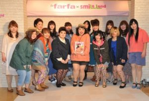 ゲストの渡辺直美さんと、モデルさんたち