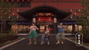 """土屋太鳳さんが""""ちちんぶいぶい ぶいダンス""""CM04"""