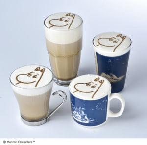 14周年スーベニアシルエットドリンク ムーミンのほうじ茶ミルク
