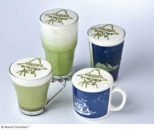 14周年スーベニアシルエットドリンク スナフキンの抹茶ミルク