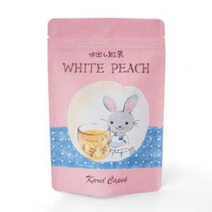 ホワイトピーチ(袋入りポット用ティーバッグ8p ¥1,080)