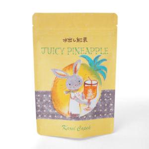 ジューシーパイナップル(袋入りポット用ティーバッグ8p ¥1,080)