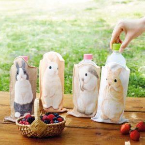 YOU+MORE! うさぎがピョンと立つ うたっちペットボトルタオルの会  1個 ¥950(+8% ¥1,026)