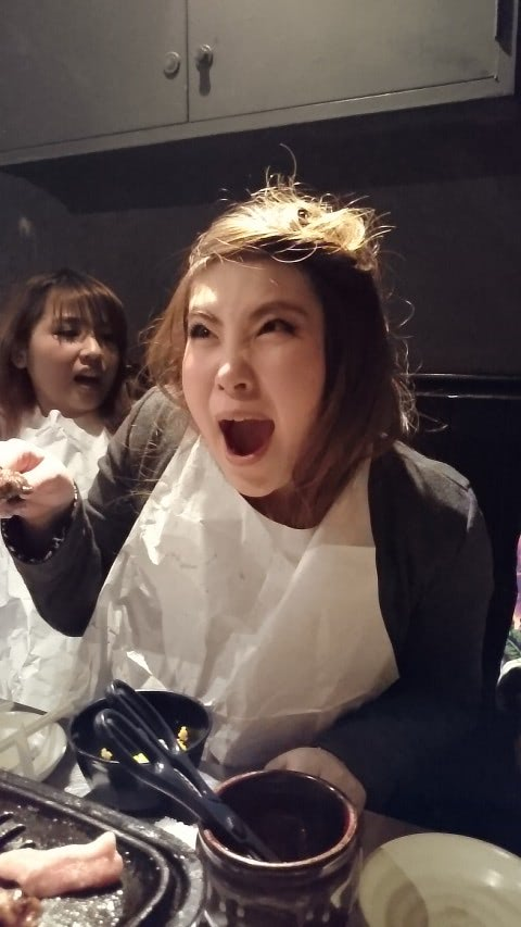 あっ…ぽちゃキュア先輩が写りこんでる! Naoちゃんは北海道のほうですよ!