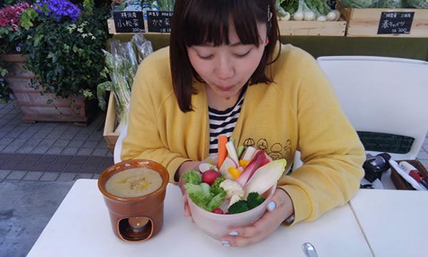 バーニャカウダ ¥1,200(税抜)