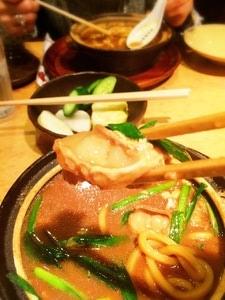 名古屋名物味噌煮込みうどんphoto3